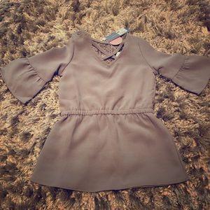 Toddler girls Baileys Blossom dressy shirt
